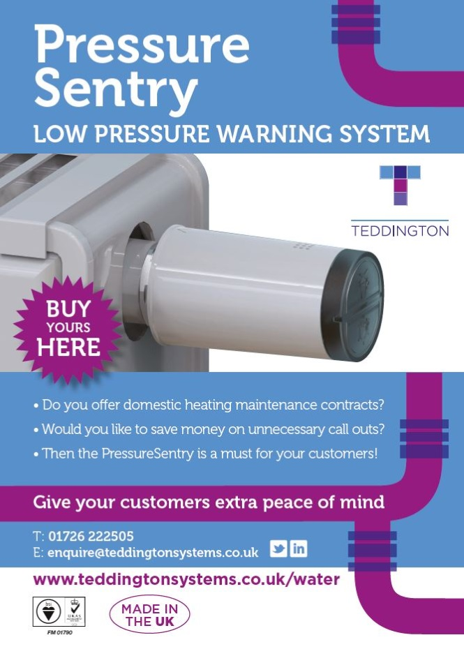 Teddington Systems Pressure Sentry Poster