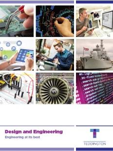 Teddington Design & Engineering Brochure